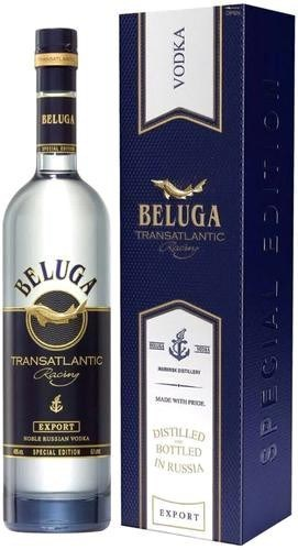 Vodka Beluga Transatlantic Special Edition